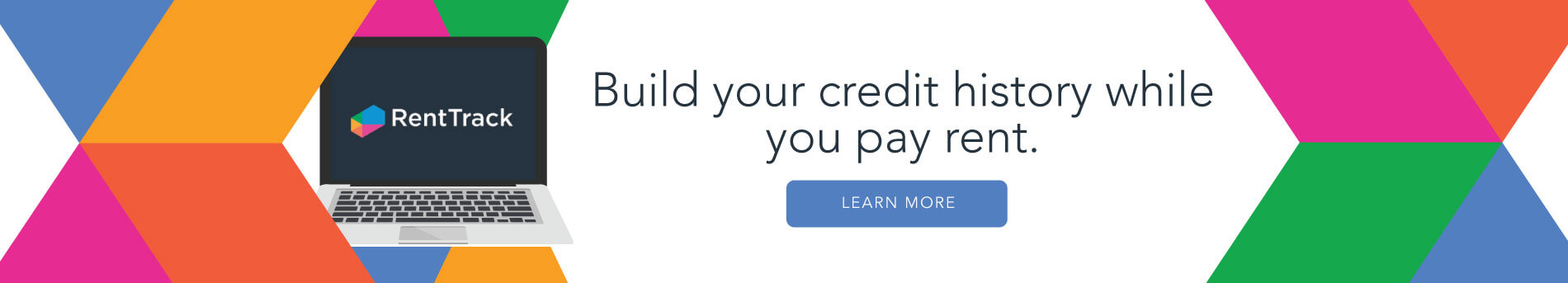 RentTrack Ad for building credit with rent history